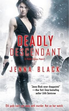 """HERE IS THE FULL REVIEW - http://le-grande-codex.blogspot.in/2012/07/nikki-glass-2-deadly-descendants.html    """"Solid plot and characters, hair-raising action and the ever elusive myths......Deadly Descendant is a must read"""""""