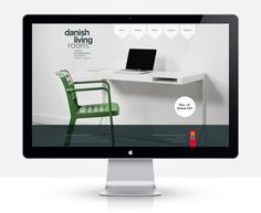 Danish Living Room website by Jesper Winther