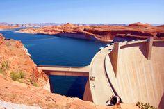 Glen Canyon Dam @ Lake Powell,Utah