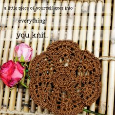 Enjoy these cold winter breeze with the fine art of handknitting. LIVE.LOVE.KNIT
