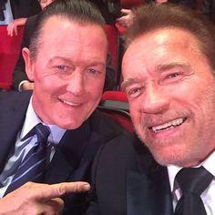 Los dos Terminators juntos de nuevo 24 años después.