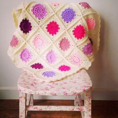 A really good friend of mine recently had her first baby, a wee girl. I knew as soon as I found out she was expecting that I wanted to make ...