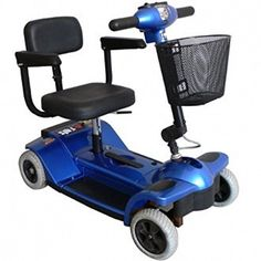 Zipr Mobility  Traveler  Travel Scooter  4Wheel  14W x 125D  Blue <3 View the item in details by clicking the VISIT button http://www.amazon.com/gp/product/B01N4H43GC/?tag=buyamazon04b-20&pmx=260217230913
