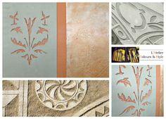 L'Atelier Colours & Style: Le Sgraffito, ça gratte et c'est beau.