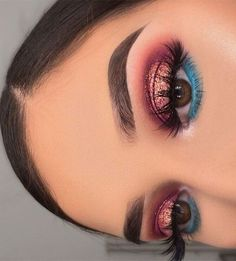 51 Stunning Makeup Looks To Try This Season 43 - Hair and Beauty eye makeup Ideas To Try - Nail Art Design Ideas Makeup Eye Looks, Beautiful Eye Makeup, Cute Makeup, Glam Makeup, Pretty Makeup, Skin Makeup, Makeup Inspo, Eyeshadow Makeup, Makeup Inspiration