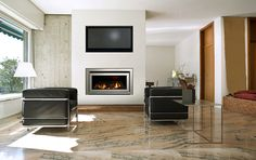 Range of luxury gas fireplaces by Escea Ltd – Selector Tv Above Fireplace, Propane Fireplace, Linear Fireplace, Modern Fireplace, Living Room With Fireplace, Fireplace Design, Fireplace Mantels, Gas Fireplaces, Fireplace Ideas