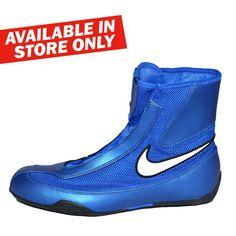 Nike Mid Machomai Boxing Shoes - Blue
