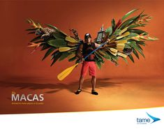 Tame Ecuador Airline advertising - #airline #carrier #airline #airways #ad #poster #aviation #commercial #advert #advertising #design #tame #ecuador