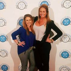 Michele and Katie looking like total #girlbosses doing the #stepandrepeat  Austin was awesome take us back! #thegoodlife #olninc #travel #lovewhatyoudo #bossbabe #management #businesswomen #austintx