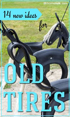 DIY & Crafts - What's Popular: 14 new ideas for old tires!