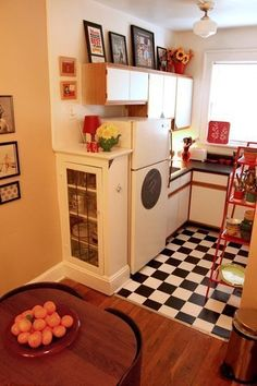 20 Small Kitchens with Style....love the one pictured