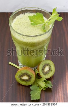 Ruccola-Celery-kiwi-Smoothie (Rucola-Sellerie-Kiwi-Smoothie), Green Smoothie