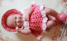 PDF PATTERN Crochet 14 inch Berenguer Baby Doll La by charpatterns