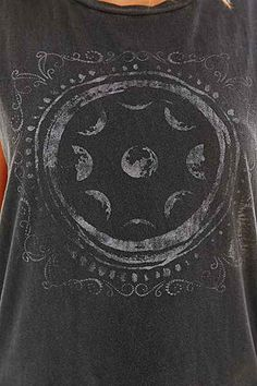 Truly Madly Deeply Moon Stamps Extreme Muscle Tee - Urban Outfitters