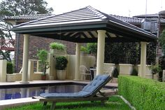Image Detail for - Gazebos and shelters for swimming pools.