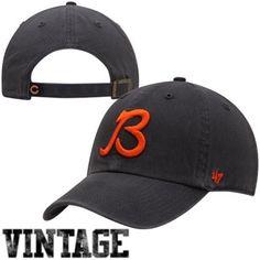 b62c163ddd9c9  47 Brand Chicago Bears Vintage Clean Up Adjustable Hat - Navy Blue -  gt