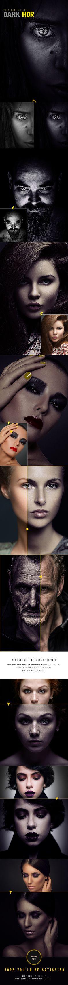 Dark HDR Photoshop Action #photoeffect Download: http://graphicriver.net/item/dark-hdr-photoshop-action/11315371?ref=ksioks