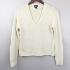 Classic V-neck Knit Sweater Heavy knit sweater for cold winter days. GAP Sweaters