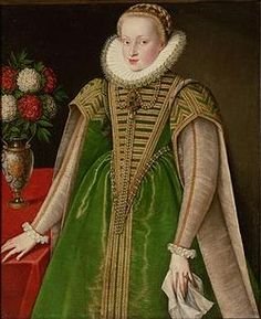 Maria Christina of Austria (1574 - 1621). Daughter of Charles II of Austria and Maria Anna of Bavaria. She married Sigismund Bathory, but their marriage was annulled in 1599.