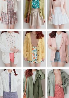 Girly Outfits- Image Ideas – Ideas for all Dresses & Outfits for All Ocassions Korean Girl Fashion, Korean Fashion Trends, Korean Street Fashion, Ulzzang Fashion, Korea Fashion, Japanese Fashion, Look Fashion, Trendy Fashion, Cute Spring Outfits