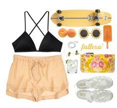 look fallera para este verano naranja 4ever! #fallera #orange #bag #look