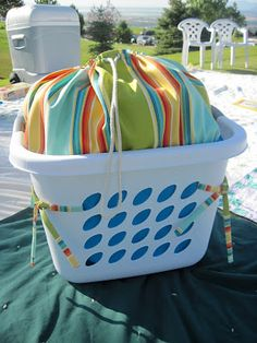 So You Think You're Crafty: Summer Bounty Crafts {week Sewing Hacks, Sewing Crafts, Sewing Projects, Diy Projects, Quilting Projects, Sewing Ideas, Summer Crafts, Summer Fun, Bountiful Baskets
