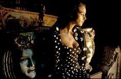 Ferdinando Scianna. ITALY, Sicily, Palermo: Fashion story with the Italian actress Monica BELLUCCI.