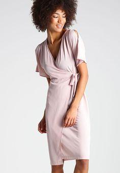 New Look Sukienka letnia - nude - Zalando.pl