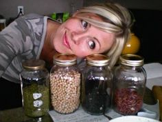 Soaking and cooking beans at home instead of buying canned. Lots of whole food recipes, too!