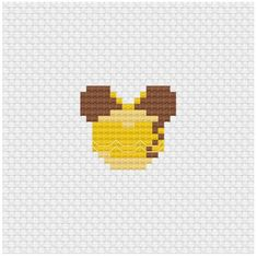 Have a look at this incredible photo - what an inventive concept Small Cross Stitch, Cute Cross Stitch, Beaded Cross Stitch, Perler Beads, Perler Bead Art, Perler Bead Templates, Pearler Bead Patterns, Disney Cross Stitch Patterns, Cross Stitch Designs