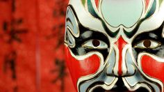 Photographic Print: Beijing Opera Masks on a Festive Background. by Liang Zhang : Opera Mask, Kempinski Hotel, Chinese Opera, Art Programs, Chinese Culture, Beijing, Art Forms, Find Art, Framed Artwork