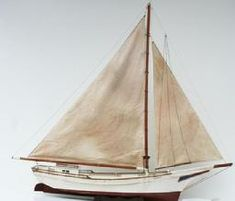 Exceptional Chesapeake Bay Skipjack working Boat Model, circa 1930