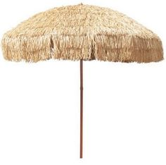 A market umbrella has a thicker wooden pole with an opening system that is either a single pulley or a double pulley. Market umbrellas protect you and your children from the harmful UV rays of the sun.