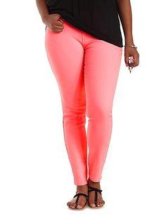 "Plus Size Refuge ""Skin Tight Legging"" Jeans: Charlotte Russe"
