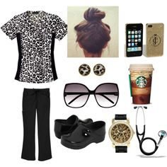 A fashion look from June 2012 featuring Bakers watches, Kate Spade earrings and H&M sunglasses. Browse and shop related looks. Nursing Assistant, Nursing Career, Nursing Tips, Nursing Scrubs, Nursing Shoes, Dental Assistant, Cna Nurse, Nurse Life, Nurses