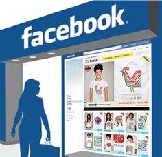facebook e-commerce lojas virtuais