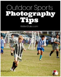 Outdoor Sports Photography Tips to help you get all of the special shots. Capturing sports photos can be hard. These sports photography tips are great for catching those fun sports memories. Action Photography, Photography Lessons, Photography Tutorials, Travel Photography, Outdoor Photography, Photography Backdrops, Photography Hashtags, Photography Photos, Soccer Photography
