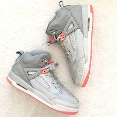 new concept 7977f cf667 Jordan Shoes   New Jordan Spizike Wolf Greysunblush 9 Y 10.5 W   Color  Gray