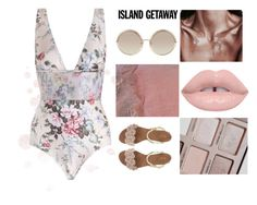 """Chic-Island#6"" by jigsaw13 on Polyvore featuring Zimmermann, Marc Jacobs and islandgetaway"