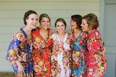 Set of 123456789 bridesmaid robe bridesmaid by SandyWatersStore