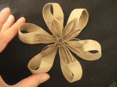 Toilet paper roll bow!
