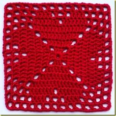 4-heart square -not english, but easy to see stitches