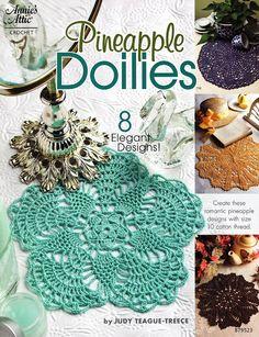 8 Pineapple Doilies