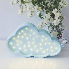 LITTLE LIGHTS - CHMURKA LAMPA LED - little_lights - Lampki