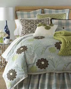 French Laundry Home Buffy Bed Linens King Dust Skirt traditional ...