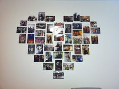 Heart picture wall! <3