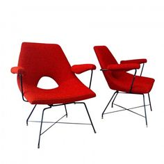 Lounge Chair by Augusto Bozzi for Saporiti | #11081