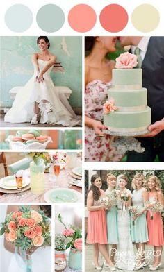10 cores tendência para casamentos em 2016: Peach Echo - Madrinhas de casamento