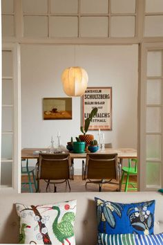 Liselote Watkins Milan home - via Home Stories