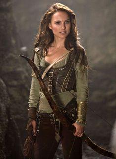 Natalie Portman, sensible female scout wear.